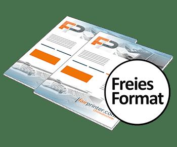 Hohlkammerplakate Freies Format Drucken Lassen