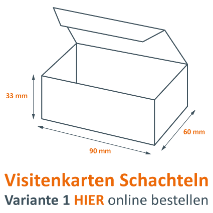 Günstige Visitenkarten Schachteln Online Bestellen
